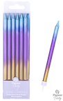 Rainbow Ombre Long Candle 12pk.png