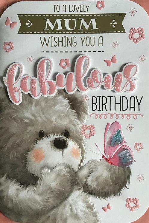 Mum Birthday Card (Lge)