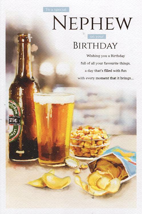 Nephew Birthday Card