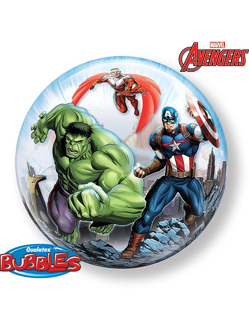 """22"""" Avengers Bubble Balloon"""