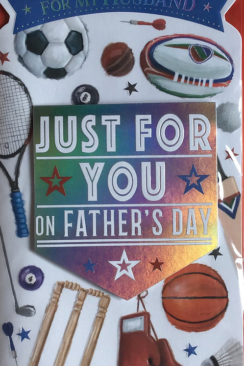 Husband Father's Day Card