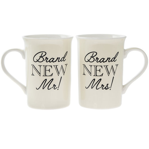 Brand New Mr/Mrs Mug Set