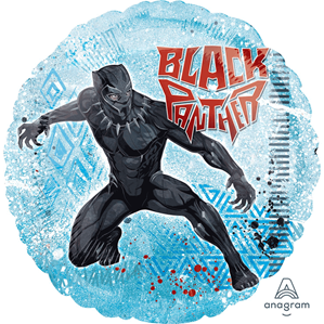 """Black Panther 17"""" Foil Balloon (Deflated)"""