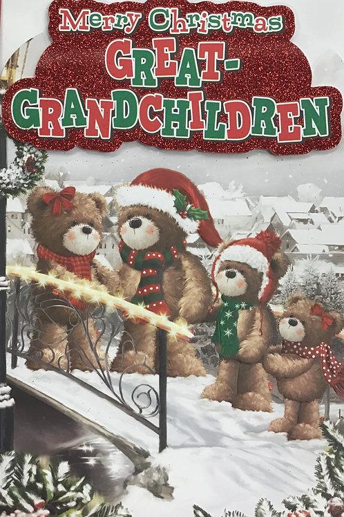 Great-Grandchildren Christmas Card