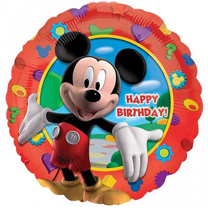 "18"" Mickey Mouse Happy Birthday Balloon"