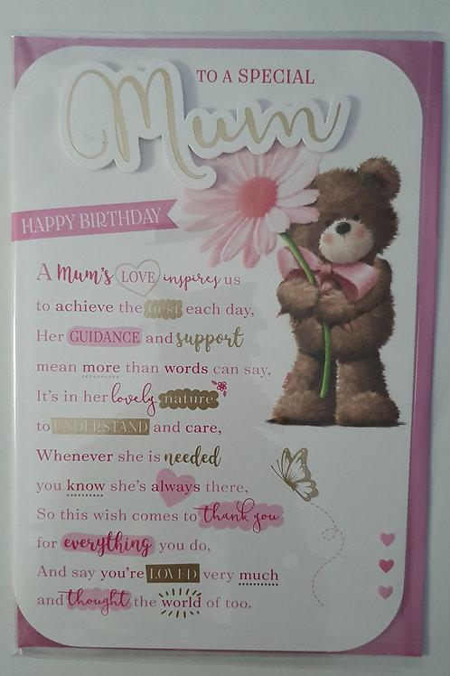 Mum Birthday Card