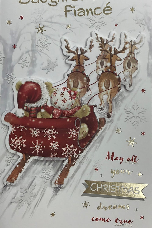 Daughter & Fiance Christmas Card