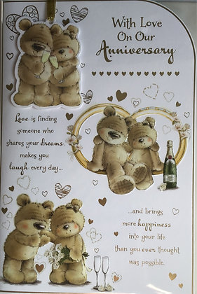 On Our Anniversary Card