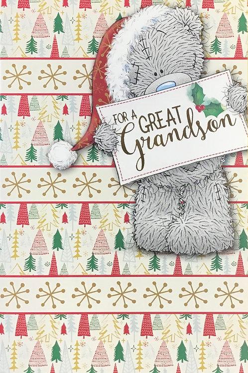 Great Grandson Christmas Card
