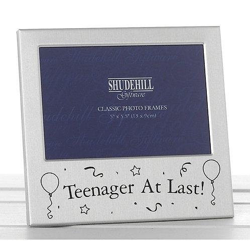 Satin Silver Occasion Frame Teenager at last 5x3