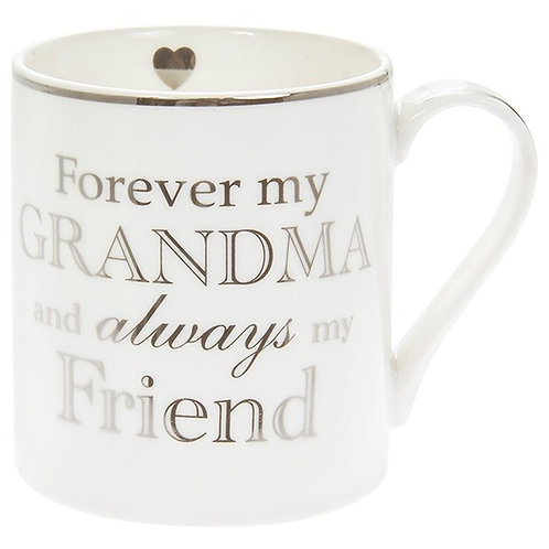 Heart To Home Mug Forever My Grandma