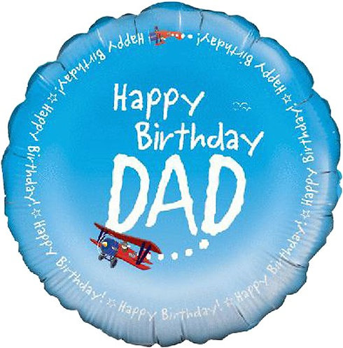 "18"" Dad Foil Balloon"