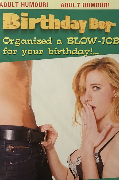 Joke Birthday Card