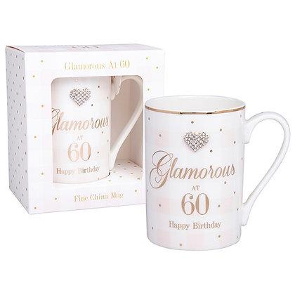 Mad Dots 60th Birthday Mug
