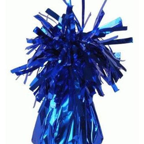 Foil Cone Balloon Weights Dark Blue 6pk