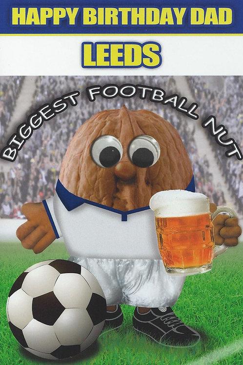 (Dad) Leeds Biggest Football Nut