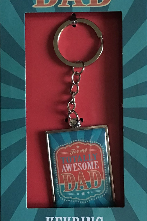 Totally Awesome Dad Keyring