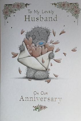 Husband (Me To You) Anniversary Card