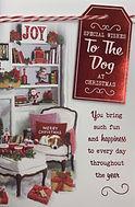 To The Dog Christmas Card