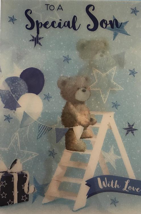 3D Son Birthday Card (C)