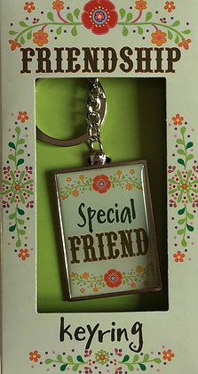 Special Friend Forever Keyring