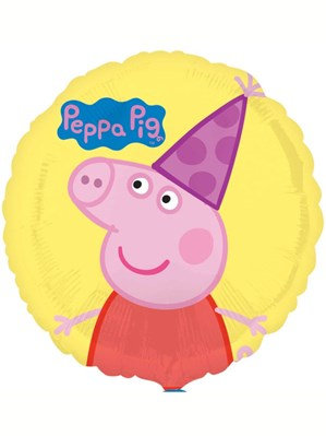 "Peppa Pig 17"" Foil Balloon (Deflated)"
