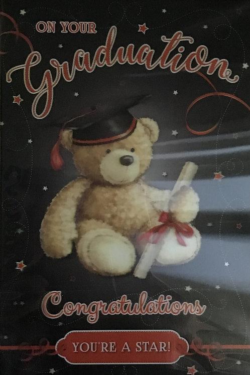 3D Graduation Card