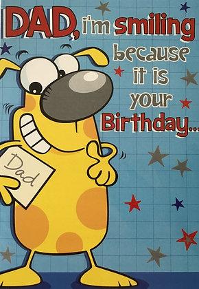 Dad Joke Birthday Card