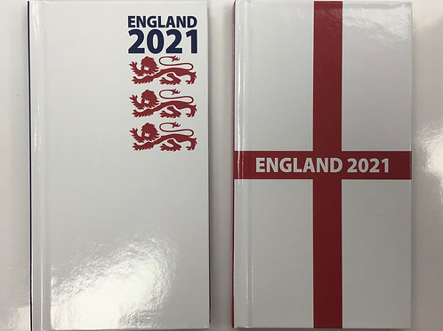 2021 Week To View Diary- England