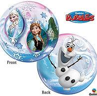"22"" Bubble Balloon Disney Frozen"