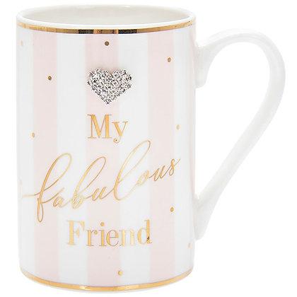 Mad Dots Friend Birthday Mug