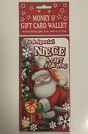 Niece Christmas Money/Gift Wallet