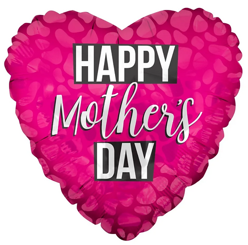 """18"""" Happy Mother's Day Foil Balloon"""