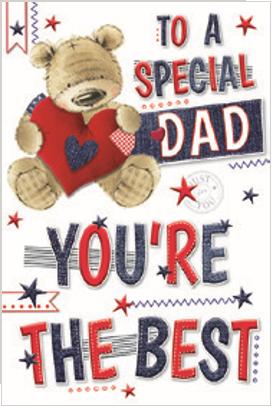 3D Dad Birthday Card(C)