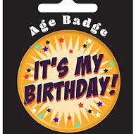 It's My Birthday Badge