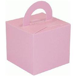 Flat Pack Balloon Weight Light Pink