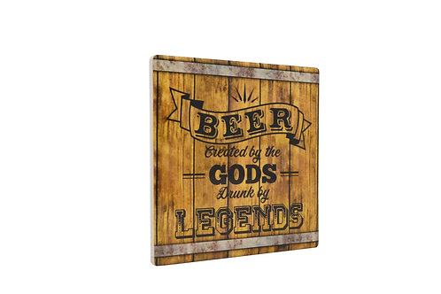 Coaster -Beer created by Gods