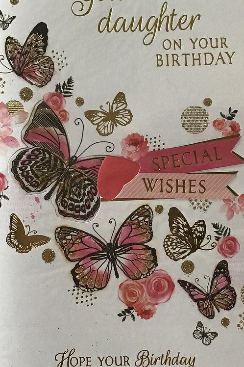 Goddaughter Birthday Card