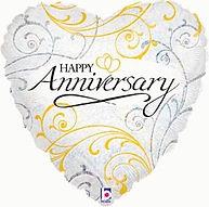 Happy Anniversary Foil