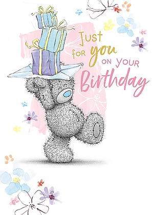 Me To You Open Birthday Card