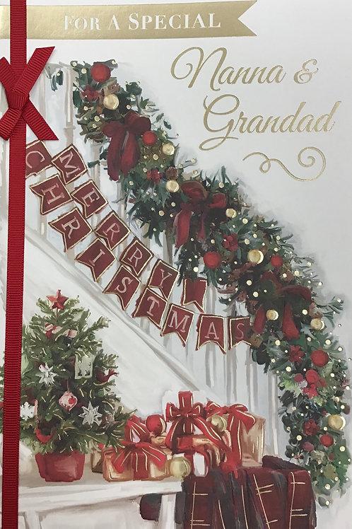 Nanna & Grandad Christmas Card