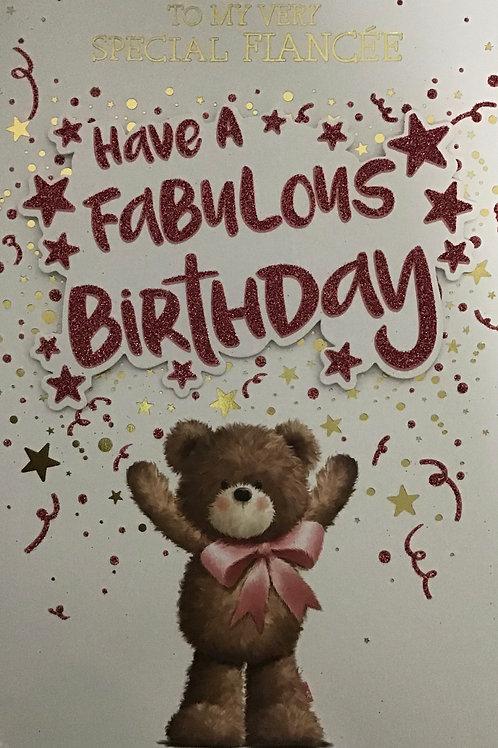 Fiancee Birthday Card