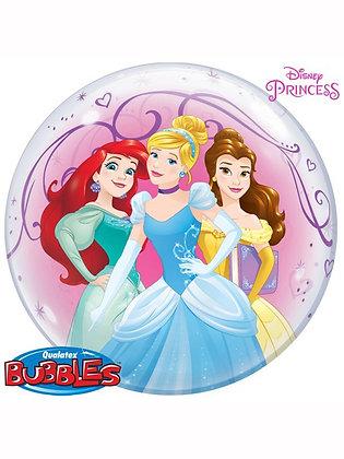 "22"" Disney Princess Bubble Balloon (Deflated)"