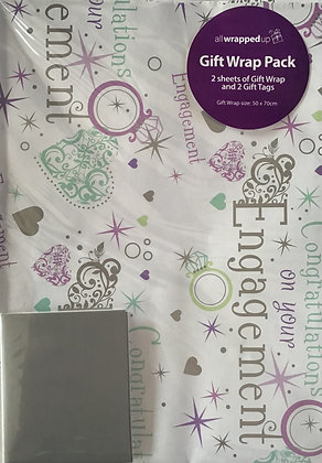 Engagement Gift Wrap Pack