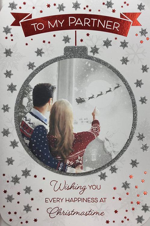 Partner Christmas Card