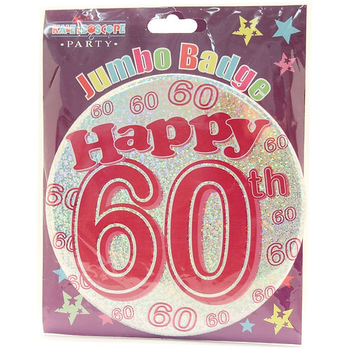 Age 60 Female Party Badge (15cm)