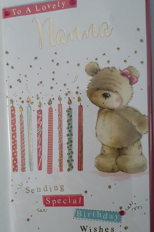 Nanna Birthday Card