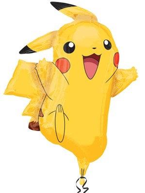 "Pokemon Pickachu Supershape 31"" Foil Balloon (Deflated)"