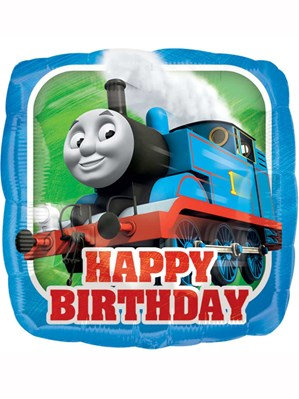 "Thomas The Tank Engine 17"" Foil Balloon (Deflated)"