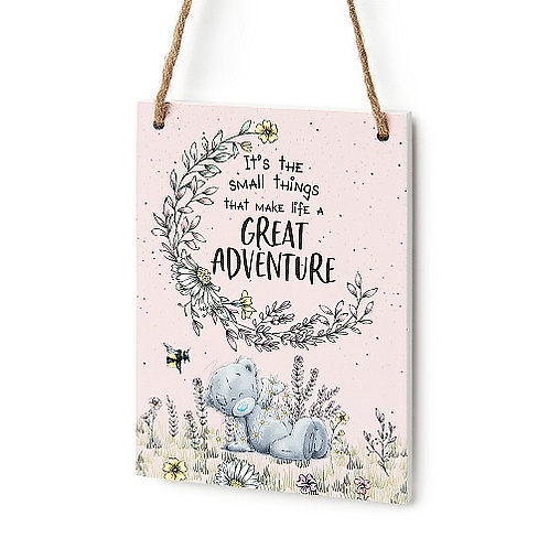 Me To You Great Adventure Hanging Plaque